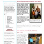 Eve's Fund Annual Newsletter 2010