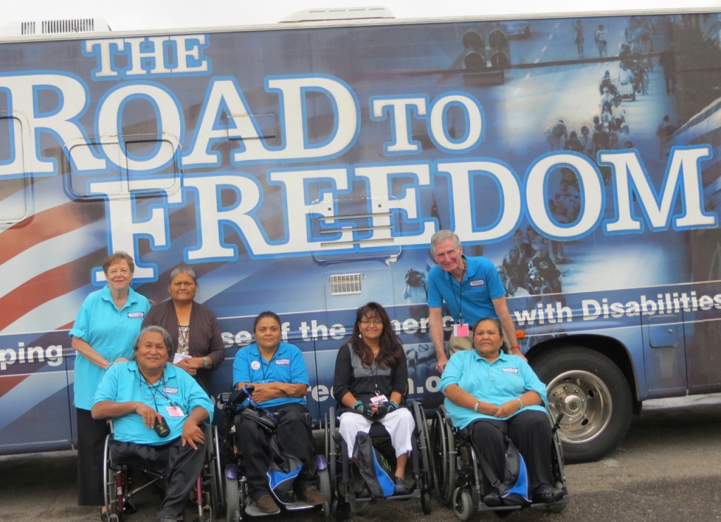 TF Navajo team at 2014 SW Conference on Disability