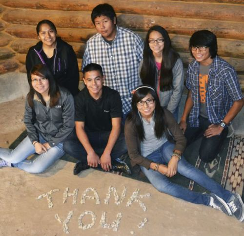 Navajo Prep School Eve's Fund Scholarship Recipients