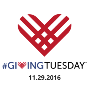 #GivingTuesday 11-29-2016