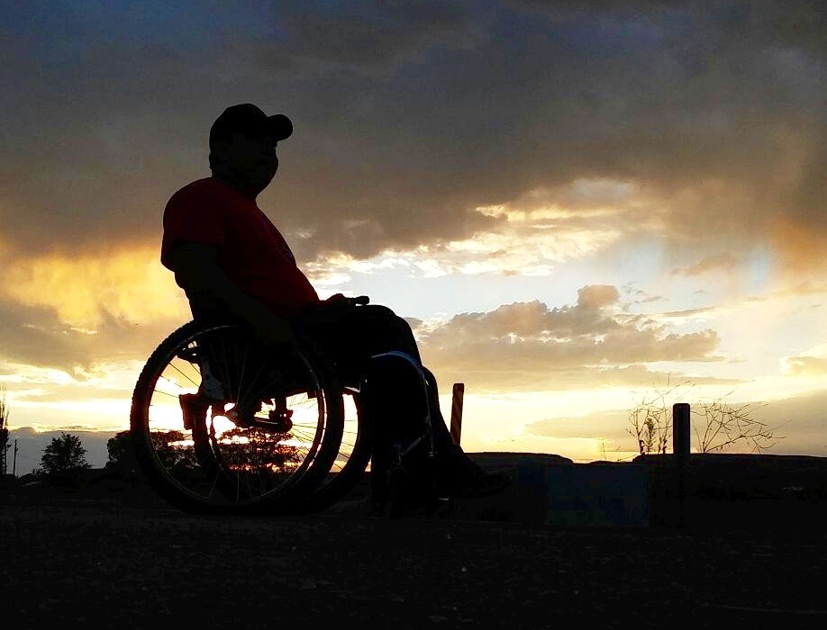 ThinkFirst Navajo VIP, Joshua Longhat, learning how to live and cope with a spinal cord injury on the isolated Zuni Reservation.
